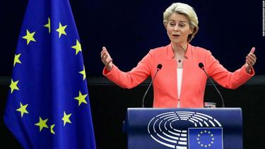 EU chief challenges US on climate and asserts Brussels' role in 'new international order'