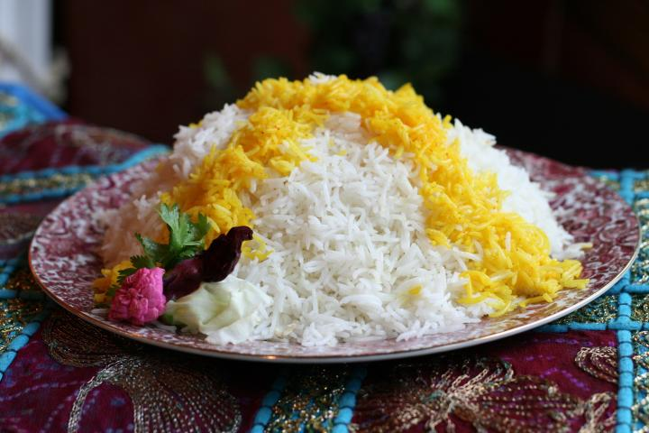Persian Boiled White Rice