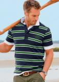 Men's Polo Stripes T-Shirt