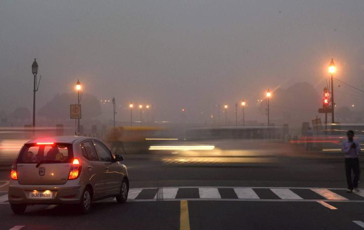 Pollution in metro cities