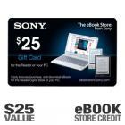 Sony - $25 eBook Gift Card