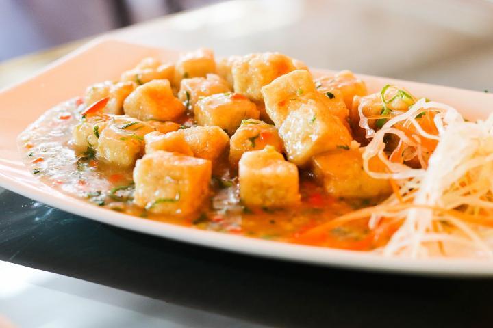Lemon-Garlic Tofu
