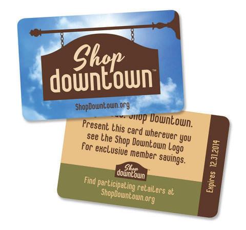 Shop Downtown