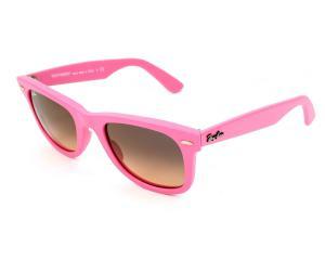 RayBan Sunglasses Wayfarer 2140 885/N1 Matt Pink Grey Gradient Pink