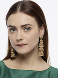 Gold-Plated Classic Earrings