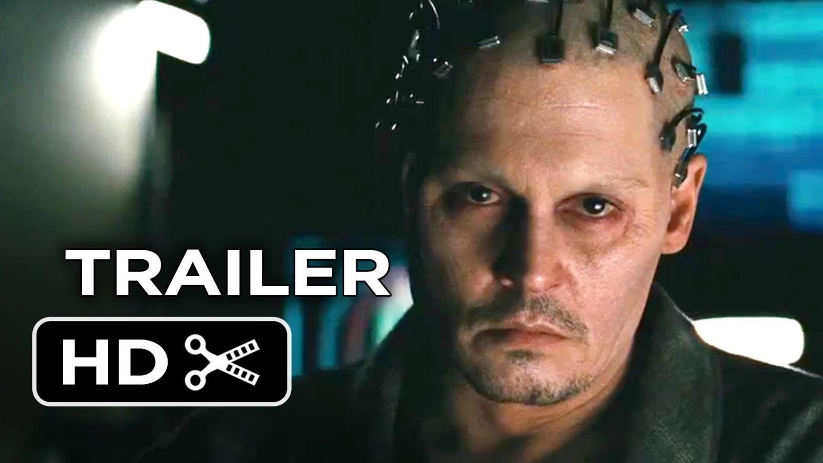 Transcendence Official Trailer - Johnny Depp Sci-Fi Movie