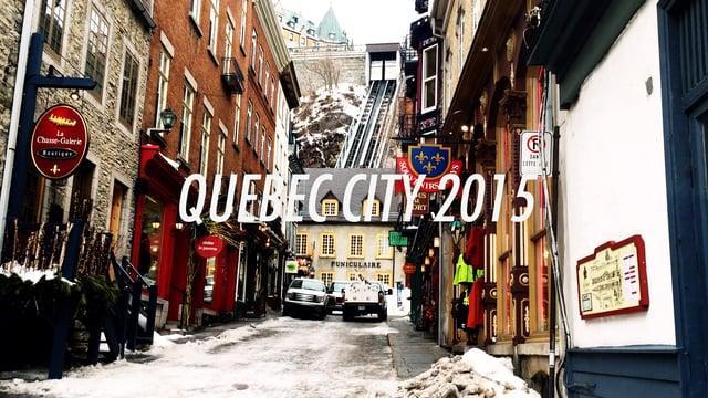 Quebec City 2016