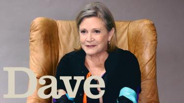 Carrie Fisher Interview   Crackanory   Dave
