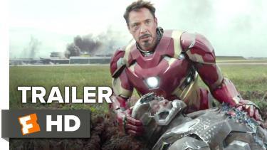 Captain America: Civil War Official Trailer #1 (2016) - Chris E