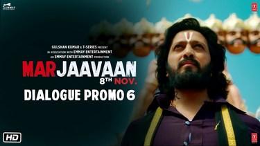 Marjaavaan (Dialogue Promo 6)   Riteish D, Sidharth M, Tara S   Milap Zaveri   8 Nov