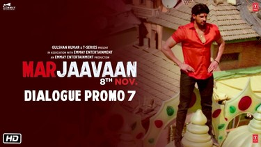 Marjaavaan (Dialogue Promo 7)   Riteish D, Sidharth M, Tara S   Milap Zaveri   8 Nov