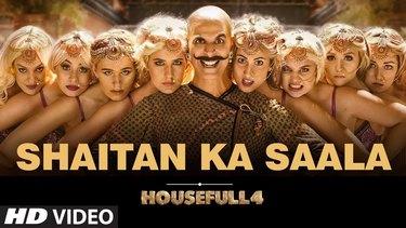 Housefull 4: Shaitan Ka Saala Video   Akshay Kumar   Sohail Sen Feat. Vishal Dadlani