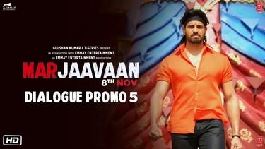 Marjaavaan (Dialogue Promo 5) | Riteish D, Sidharth M, Tara S | Milap Zaveri | 8 Nov