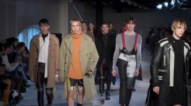 Menswear Fashion Show Autumn-Winter 2016
