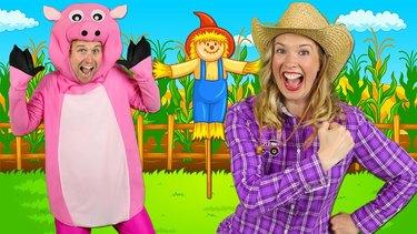 ""\""""Alphabet Farm"""" - ABC Alphabet Song for Preschool  Learn ABCs around the farm""